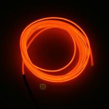 9ft Neon LED Light Glow EL Wire String Strip Rope Tube Car Party + Controller