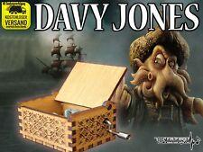 DAVY JONES Fluch der Karibik Spieluhr Musikuhr Musicbox Spieldose Neu Fanartikel