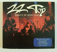 ZZ TOP : WHAT'S UP WITH THAT + 2 BONUS LIVE ♦ MAXI-CD ♦