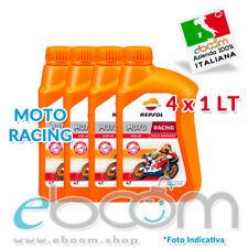 Olio Motore ORIGINALE REPSOL MOTO RACING 10W50 4T SINTETICO 100% MA2 - 4 x 1 LT
