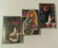 Joe Satriani  ‎vinnie Moore cassette Tapes Lot Meltdown dreaming #11 not earth