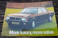 Ford Granada Ghia Mk I Sweeney Postcard Vintage Ad Gallery No 132 VK289PC Mint