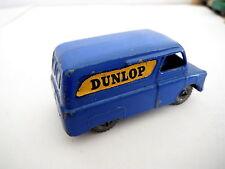 MATCHBOX LESNEY No 25 BEDFORD DARK BLUE VAN DUNLOP DECAL metal wheels