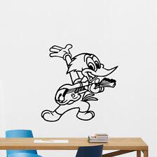 Woody Woodpecker Wall Decal Cartoon Vinyl Sticker Nursery Decor Kids Mural 62hor