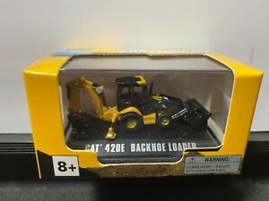 1/87 HO CATERPILLAR CAT MICRO CONTRUCTOR 420E BACKHO LOADER YELLOW
