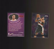 1997 NBA Hoops Chairman of the Board #7CB Rasheed Wallace Portland Trail Blazers