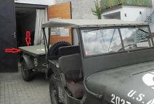 Willy's Jeep MB, Ford GPW, Abdeckplane für den Anhänger, Trailer Verdeck