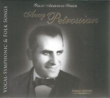 Avak Petrosyan Armenian Classic Avag Petrossian Opera Vocal-Symphonic Folk Songs