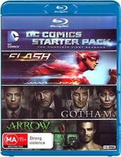 DC Comics Starter Pack: The Complete First Seasons (Th  - BLU-RAY - NEW Region B