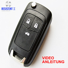 OLJ3GE Klappschlüssel Gehäuse für 3-Tasten Opel Corsa E,Astra J  Fernbedienung