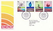 25 de enero de 1978 la oficina de correos de energía primer día cubierta mesa Shs (x)
