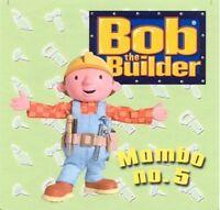 """Bob the Builder Mambo no.5 + 3 - BBC 5"""" CD Single"""