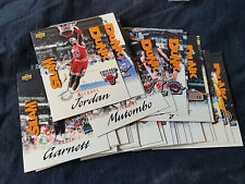 1997 Upper Deck Nestle Slam Dunk Basketball Pack ~ Complete Set