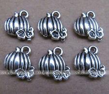 P062 20pcs Tibetan Silver Charm pendant pumpkin Retro Accessories Wholesale