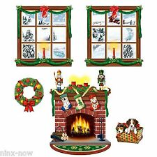 Christmas Decoration Cutouts Instant Decoration Kit (38cm to 124cm) - Pack of 5