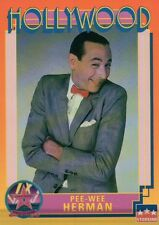 Pee-Wee Herman, Actor, Hollywood Star, Walk of Fame Trading Card -- NOT Postcard