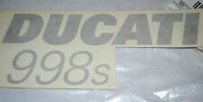 autocollant Logo de flanc gauche Ducati 998 S neuf