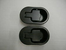 RECLINER SOFA AND RECLINER CHAIR REPLACEMENT BLACK METAL HANDLES X 2