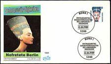 FDC, Germany, 1989 Sehenswurdigkeiten, Nofretete Berlin -  First Day Cover