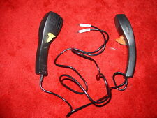 2 No Micro Scalextric Hand Throttles / Controllers (Yellow & brown) 2mm Grey Pin