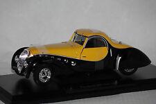 NOREV 1:18 AUTO DIE CAST PEUGOT 302 DARL' MAT COUPE' 1937 NERO GIALLO 184716