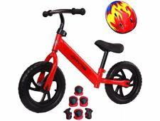 Laufrad Omna Kinderlaufrad Kinder Fahrrad Helm Ellbogen und Knieschützer