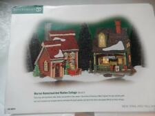 Department 56 - New England Warren Homestead And Walden Cottage #56.56659