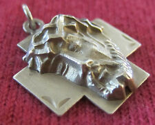 Vintage Catholic Religious Holy Medal - STERLING - Holy Face of Jesus