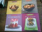 Lot de 4 livres de cuisine Farcis surprise Apéros gourmands Verrines épatantes