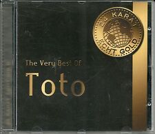 Toto The very Best of Toto 24 Karat Gold CD RAR OOP