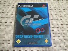 Gran Turismo 2002 Tokyo-Geneva para PlayStation 2 ps2 PS 2 * embalaje original *