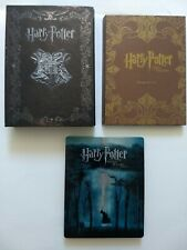 Harry Potter Steelbook & cases for Blu-ray/DVD cases (No Discs)
