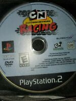 Cartoon Network Racing (Sony PlayStation 2, 2006) PS2 Game Disc Only