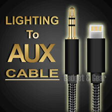 Lightning to 3.5mm Jack Male Audio AUX Cable For iPhone 11 XS Max XR 8 7 iOS 13