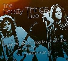 THE PRETTY THINGS - LIVE ON AIR 1974 AT BBC  CD+DVD NEW!