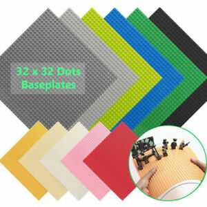 Baseplate Base Plates Building Blocks 32 x 32 Dots Compatible for LEGO Boards UK