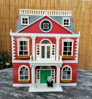 Sylvanian Families Large Grand Regency Hotel and Figures and Furniture Vintage