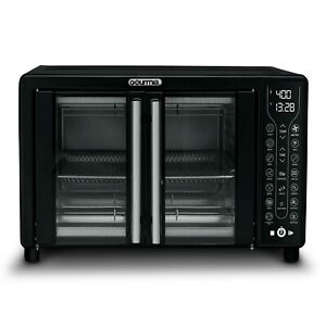 Digital French Door Air Fryer Toaster Oven, ooks food quickly and evenly