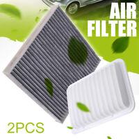 Combo Set Engine and Cabin Air filter Set for Toyota Corolla Matrix Yaris