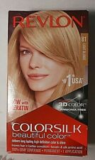 REVLON COLORSILK PERMANENT HAIR COLOR - LIGHT BLONDE #81