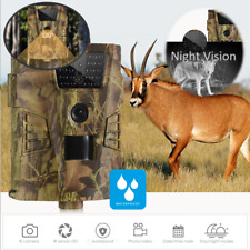 Trail Camera Hunting Game Trail Cam Video Outdoor IR 1080P HD Waterproof 12MP