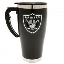 Oakland Raiders NFL American Football Black Executive Travel Coffee Thermal Mug
