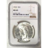 1923 Peace Dollar NGC MS65 *Rev Tye's* #100999