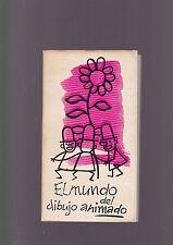 """San Sebastian Film Festival """"El Mundo del Dibujo Animado"""" programme 1962"""