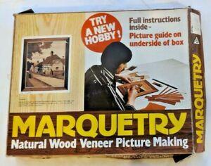 MARQUETRY KIT, NATURAL WOOD VENEER PICTURE MAKING by THE ART VENEER CO LTD