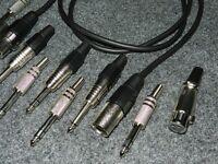 XRL Female>Male Verlängerungs Kabel Metall Stecker  länge 3 meter