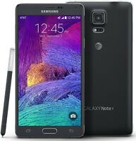 Samsung Galaxy Note 4 32GB 4G LTE SM-N910A (AT&T T-Mobile) Black Phone UNLOCKED