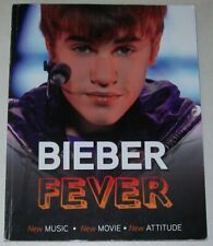 Justin BIEBER FEVER softcover BOOK lots of photos NEW Music, Movie Attitude 2011
