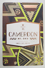 Starbucks Coffee Reserve Taster Card Mint - CAMEROON MT.OKU