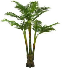 Artificial Plants Palm Tree, Large Silk Green Leaves Palm Tree, 160cm Tall, No